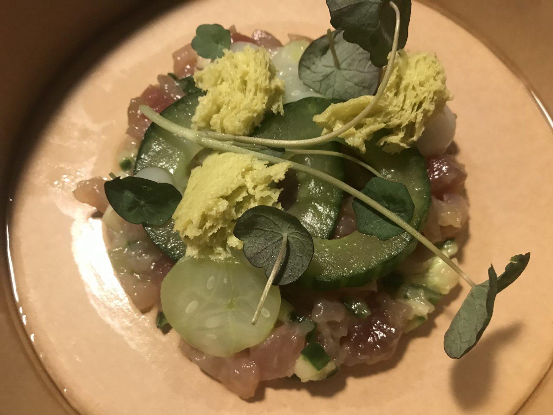 Erfahrung Bewertung Kritik Restaurant Hannappel Gourmetpackage Vorspeise Thunfisch Foodblog Sternestulle
