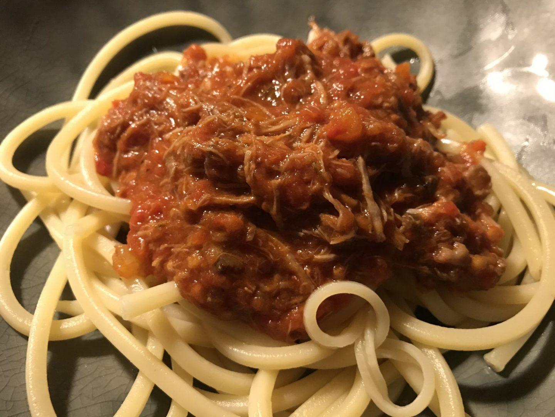 Rezept Rezeptidee Bolognese nach Tim Mälzer Bullerei Foodblog Sternestulle