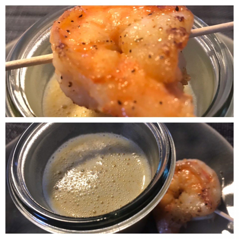 Erfahrung Bewertung Kritik Cateringmanufaktur Dortmund Börsday Box Süßkartoffelsuppe mit Garnele Foodblog Sternestulle
