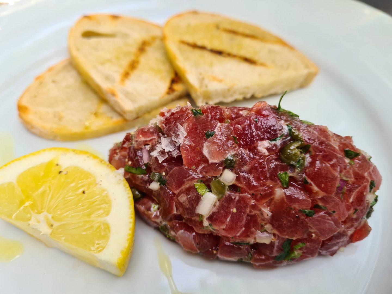 Erfahrung Bewertung Kritik B 10 Leipzig Thunfisch Tatar Foodblog Sternestulle