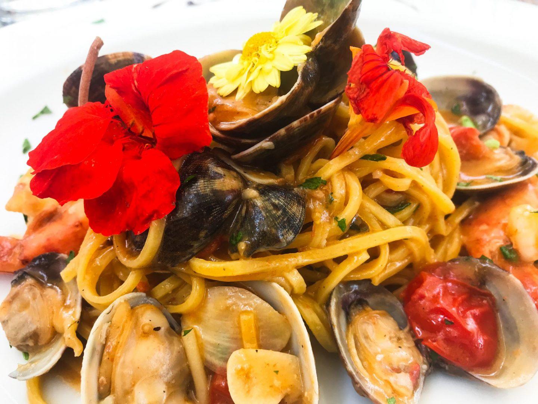 Erfahrung Bewertung Kritik Pizzeria Teatro Xanten Pasta Meeresfrüchte Foodblog Sternestulle