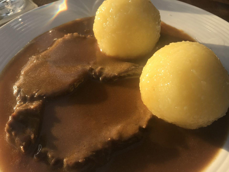 Erfahrung Bewertung Kritik Gasthof Schüpferling Schlaifhausen Sauerbraten Kloß Foodblog Sternestulle