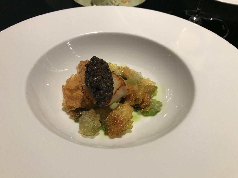 Erfahrung Bewertung Kritik Tim`s Kitchen Fürth Jakobsmuschel Vichyssoise Kaviar Foodblog Sternestulle