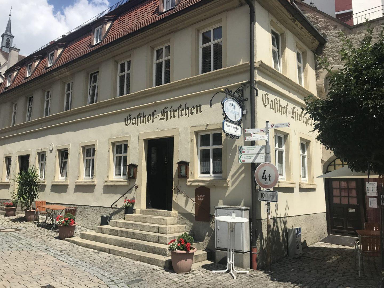 Erfahrung Bewertung Kritik Gasthof zum Hirschen Dettelbach Foodblog Sternestulle
