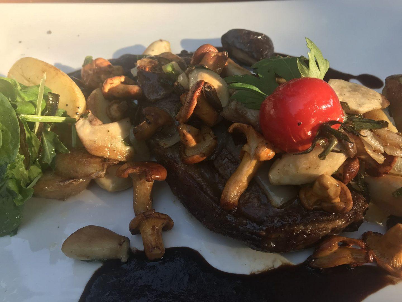 Erfahrung Bewertung Kritik Ollis Restaurant Herne Entrecote Edelpilze Jus Foodblog Sternestulle
