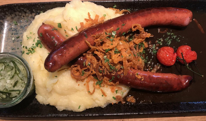 Erfahrung Bewertung Kritik Wirtshaus Herne Ochsenbratwürste Kartoffelstampf Gurkensalat Foodblog Sternestulle