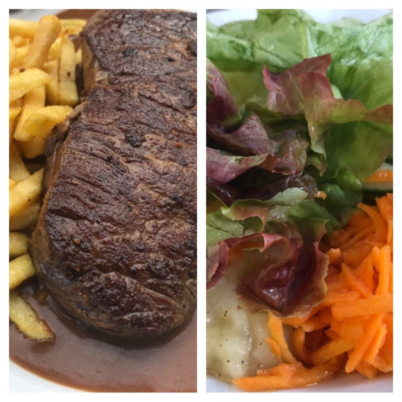 Erfahrung Bewertung Kritik Gasthof Ehrl Altessing Pfeffersteak Pommes Salat Foodblog Sternestulle