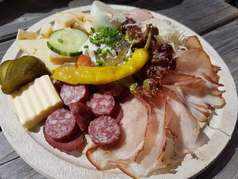 Erfahrung Bewertung Kritik Jausenstation Grammlergut Maria Alm Jause Foodblog Sternestulle