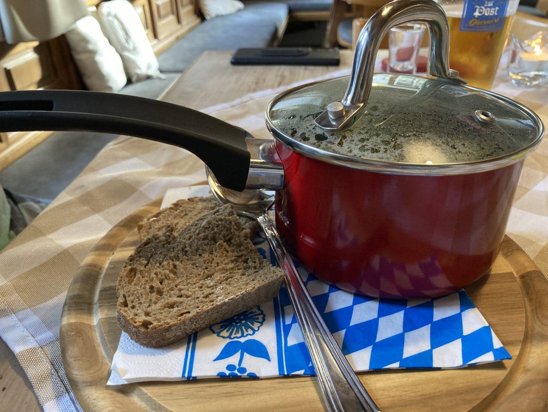 Erfahrung Bewertung Kritik Restaurant Oberwirt Chieming Kürbiscremesuppe Foodblog Sternestulle